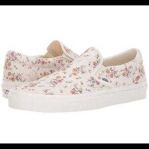 ISO vintage floral slip on Vans 🥀